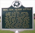 Image for Brig. Gen. Henry Little, Iuka, Tishomingo County, Mississippi