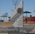 Image for Children's Park, Lake Hefner - Oklahoma City, Oklahoma USA