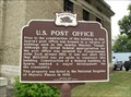 Image for U. S. Post Office Historical Marker