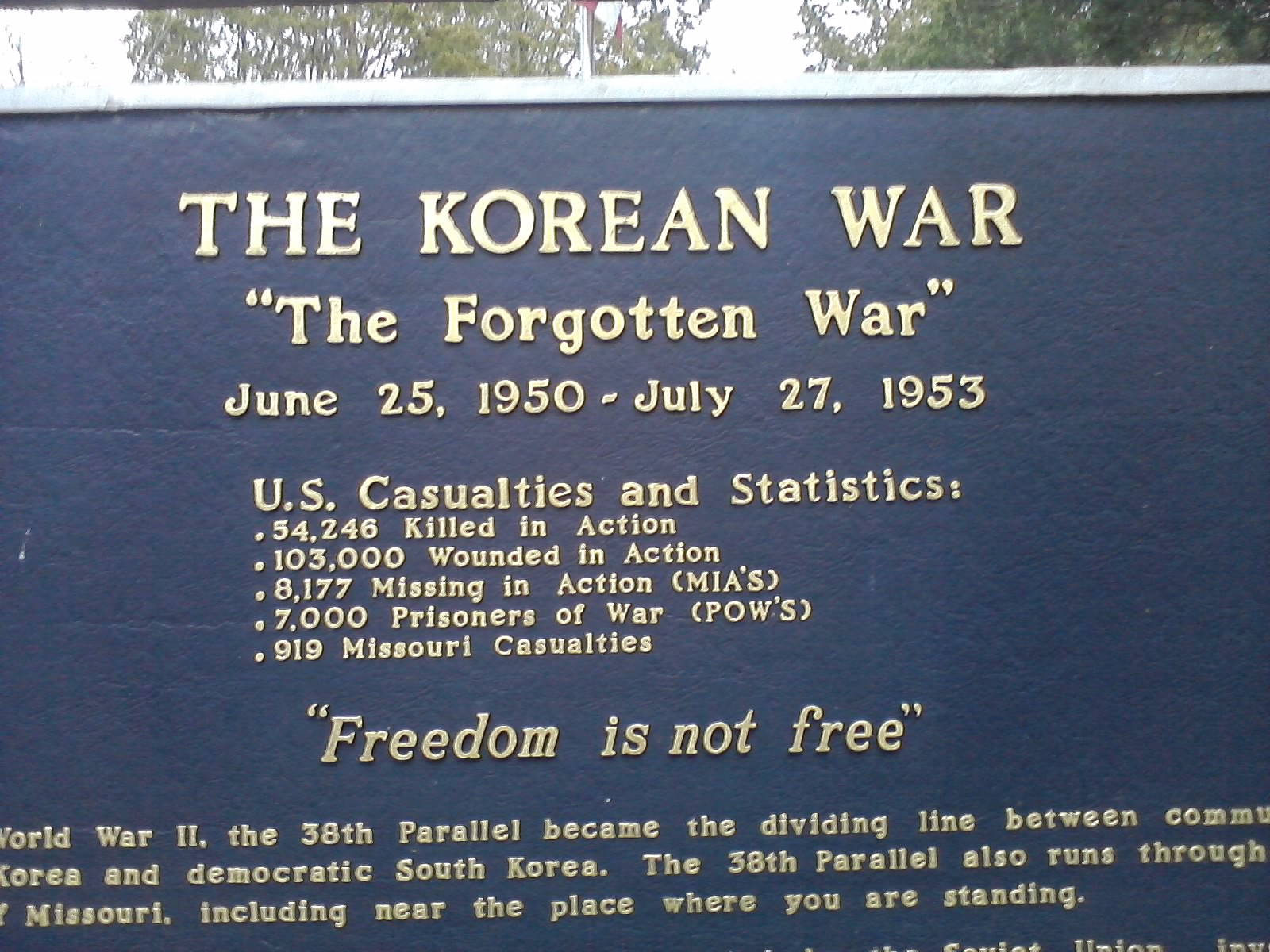 account of the history of the korean war This is a story of an old women and the war the soldiers who came from far  away to help south korea saved our family and saved my life.