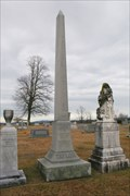 Image for Robert and Alfred Taylor Obelisk - Johnson City, Tennessee