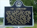 Image for Fry Cemetery- Arab, AL