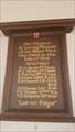 Image for Memorial Board - St Leonard - Grateley, Hampshire