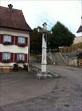 Image for Stone Cross in the Town Center - Blauen, BL, Switzerland