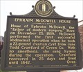 Image for Dr. Ephraim McDowell House, Danville, Boyle County, Kentucky