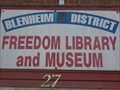 Image for Blenheim District Freedom Library and War Museum - Blenheim, Ontario