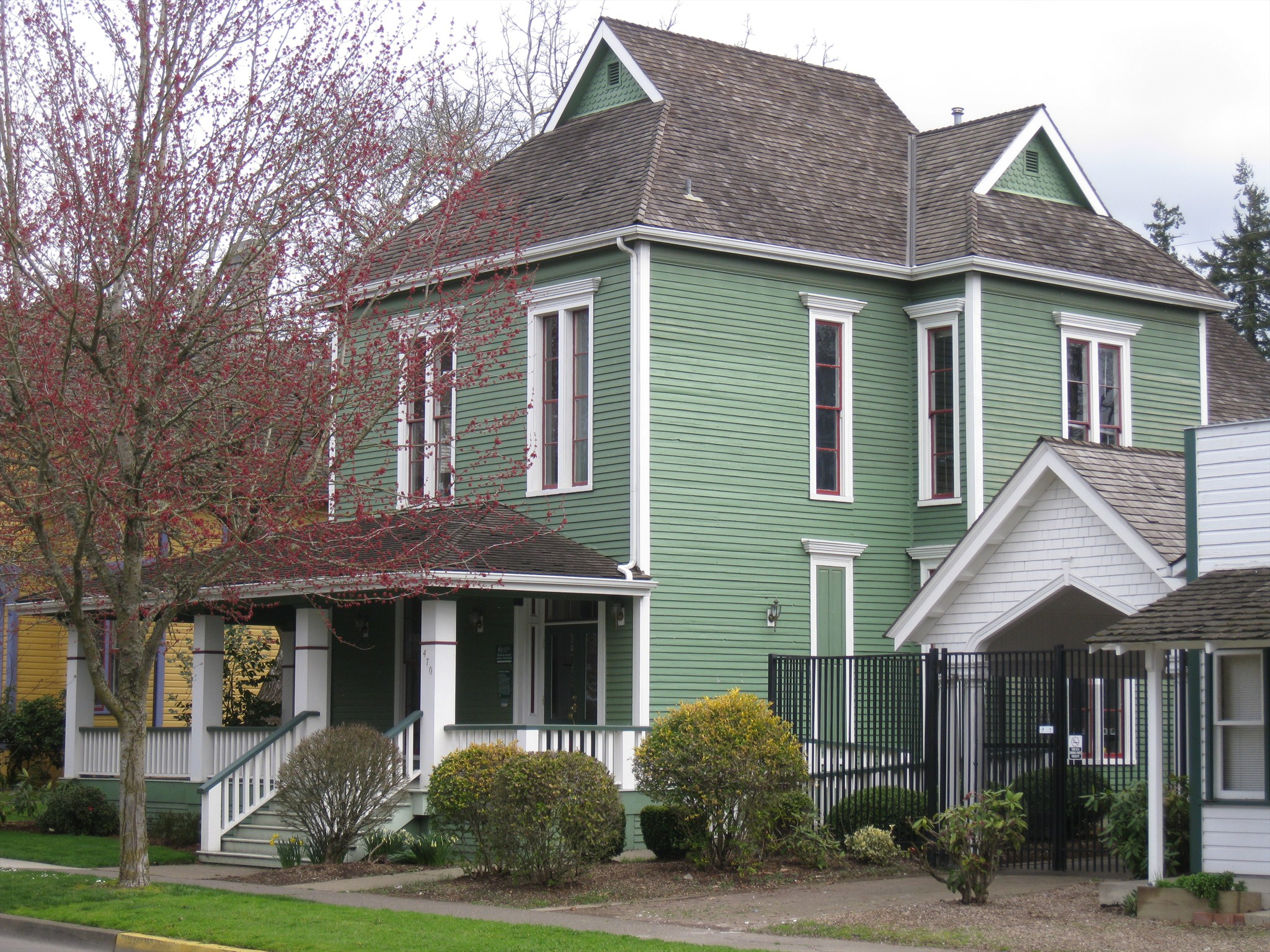 Parrish House - Salem, Oregon - Relocated Structures on ...