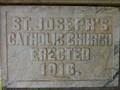 Image for 1916 - St. Joseph's Catholic Church - Waterville, WA