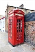 Image for Red Telephone Box - Downham Road, London, UK