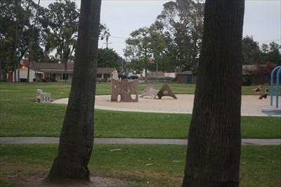 Playground thru the trees...