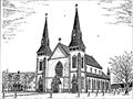 Image for St. John the Baptist Catholic Church by Sterling Stratton - Miscouche, PEI