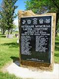 Image for Lavina Cemetery Veterans Memorial - Lavina, MT
