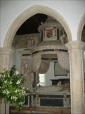 Image for Sir Anthony Mildmay and Lady Grace Mildmay - St Leonard's Church, Apethorpe, Northamptonshire, UK