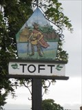 Image for Toft  Village sign - Cambs