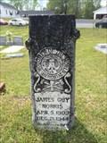 Image for James Guy Norris - Shiloh Baptist Church Cemetery - Shiloh, AL