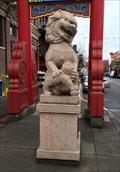 Image for Chinatown Stone Lions - Victoria, British Columbia, Canada