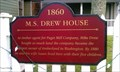 Image for M.S. Drew House Historical Marker - Port Gamble, WA
