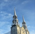 Image for Les clochers de Saint-Nom-de-Marie-Marieville-Québec, Canada