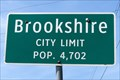 Image for Brookshire, TX - Population 4702