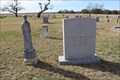 Image for Katherine Anne Porter -- Indian Creek Cem., Brown Co. TX