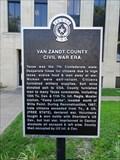 Image for Van Zandt County Civil War Era - Canton, TX