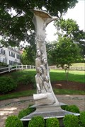 Image for Plymouth Immigrant Monument artist returns  -  Plymouth, MA