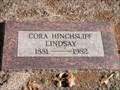 Image for 101 - Cora Hinchsliff Lindsay - Fairlawn Cemetery - OKC, OK