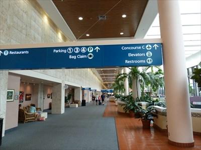 Palm Beach International Airport West Fl Inside Airports On Waymarking