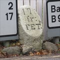 Image for B974 Milestone - Bridge of Feugh, Banchory, Aberdeenshire.