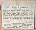 Image for Falls Park Bridge - 1997 - Sioux Falls, South Dakota