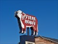 Image for Neon cow - Rod's Steak House - Williams, AZ