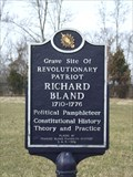 Image for Richard Bland - Prince George County, VA