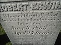 Image for Robert Erwin - Woodland Cemetery, London, Ontario