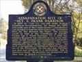 Image for Assassination Site of Sgt. E. Frank Harrison - Ashville, AL