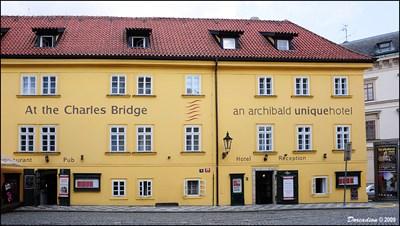 At the charles bridge archibald unique hotel prague for Unique accommodation prague