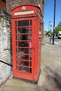 Image for Red Telephone Box - Homerton High Street, London, UK