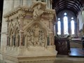 Image for Victorian Pulpit - Church of St Cuthburga - Wimborne Minster, Dorset, UK.[