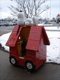 Image for Snoopy On His Doghouse - Waterloo, NY