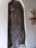 Image for Pillar Stone -  Church of St Madoc - Llanmadog, Gower, Wales.