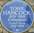Image for Tony Hancock Blue Plaque - Queen's Gate Place, London, UK