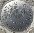 Image for County of Orange Surveyor 3B-119-13 Benchmark - Irvine, CA