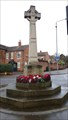 Image for Combined WWI / WWII memorial cross - Beeston, Nottinghamshire