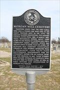 Image for Morgan Mill Cemetery
