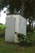 Image for Louisville Christian Church Privy - Louisville, MO