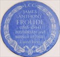 Image for James Anthony Froude - Onslow Gardens, London, UK