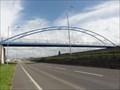 Image for Millennium Greenway Bridge Over A494 - Garden City, UK