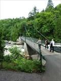 Image for Pont Mestachibo  - Canyon Sainte-Anne, QC