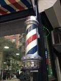 Image for St. Marks Barber Shop Pole - New York, NY