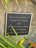 Image for Grace Irvin Glang and William George Glang - Millbrae, CA