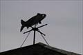 Image for Fort Mackinac Fish Weather Vane - Mackinac Island MI